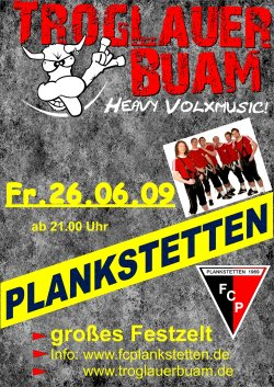 Troglauer Buam in Plankstetten am 26.06.2009 - heavy volxmusic